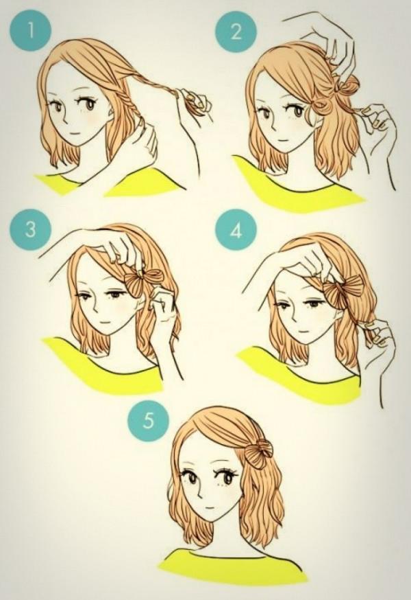 Как сделать анимешную прическу девушке - Праздник сказка