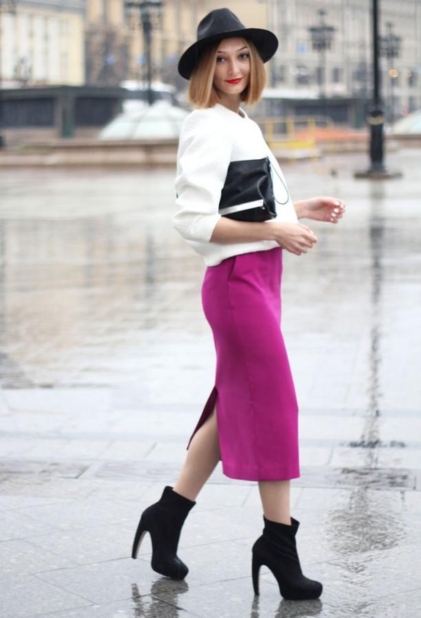 Замшевая юбка фото 2015 современные идеи