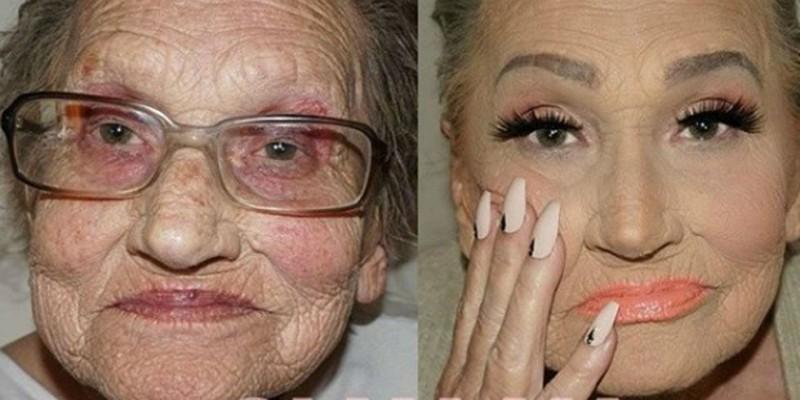 изменить лицо с помощью макияжа