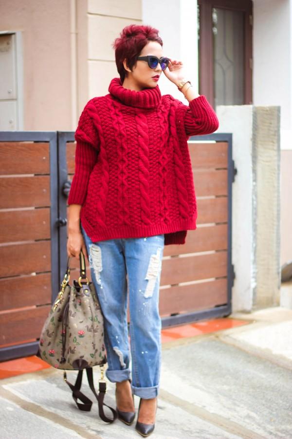 Идея для шоппинга: свитер с высоким воротом 3