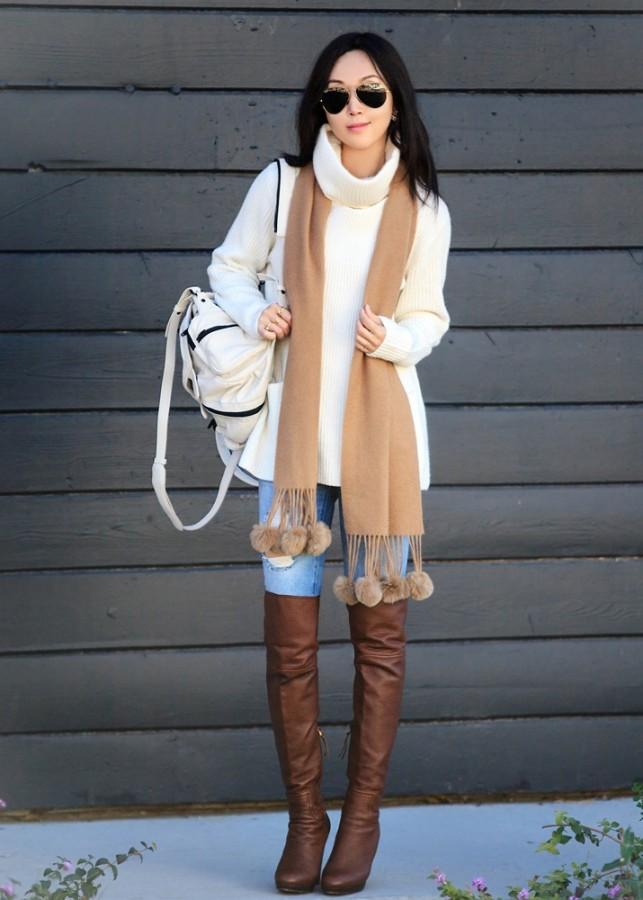 Идея для шоппинга: свитер с высоким воротом 7