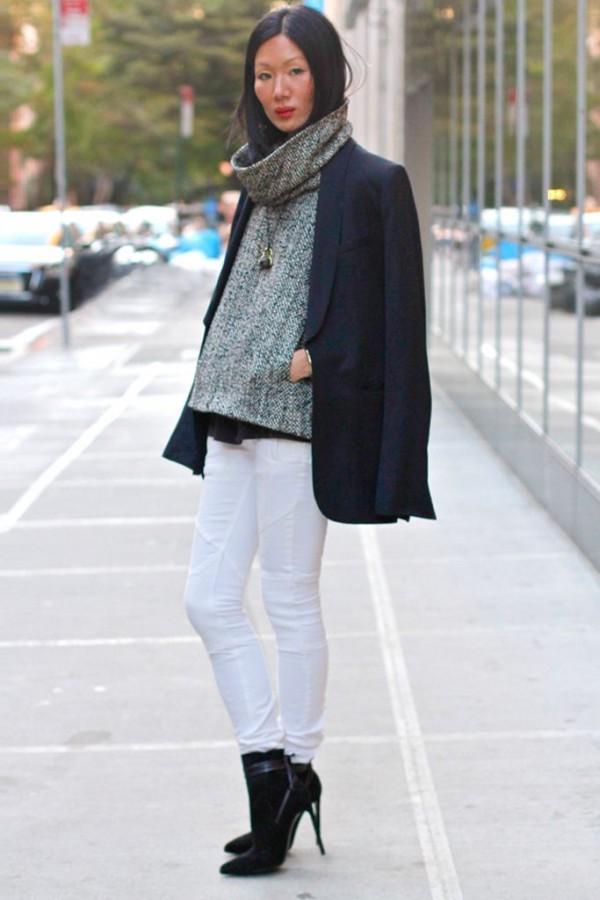 Идея для шоппинга: свитер с высоким воротом 11