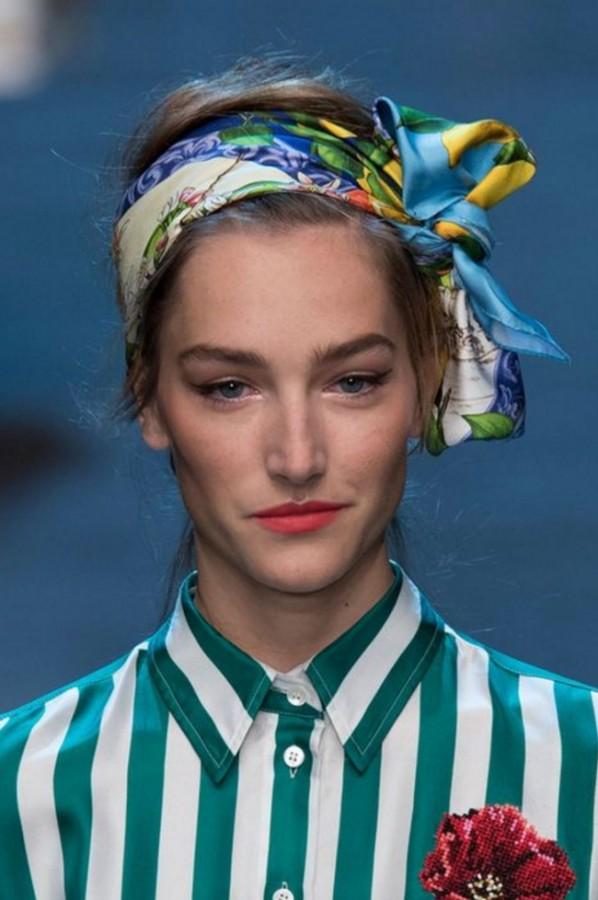 Модный платок на голову 178