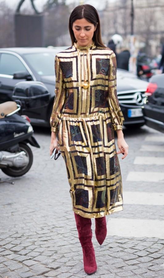 Идея для праздника: модные платья-миди 0