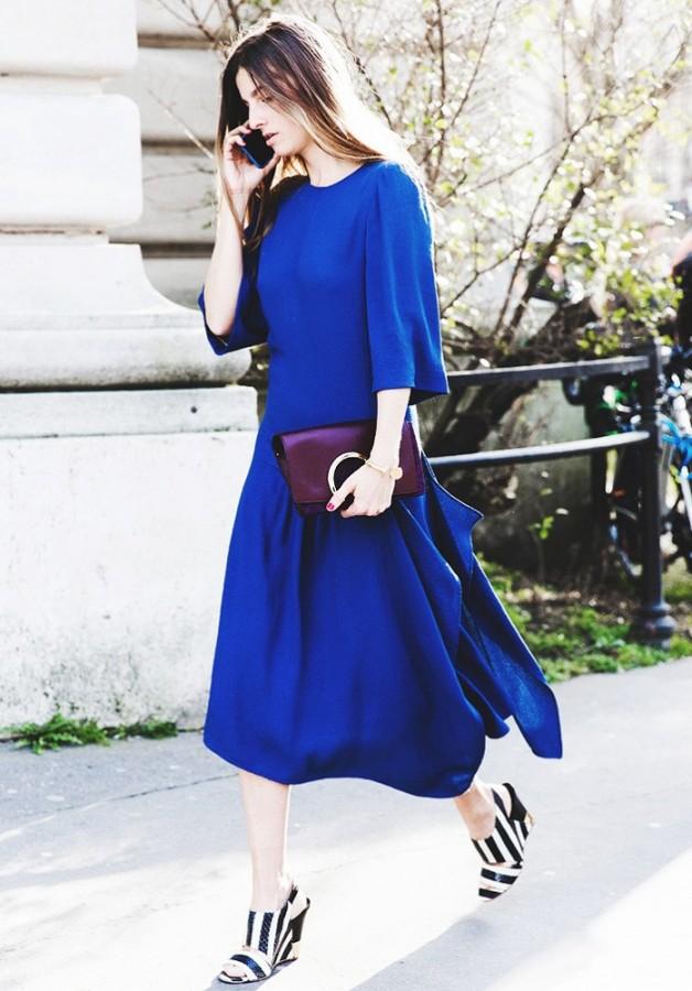 Идея для праздника: модные платья-миди 6