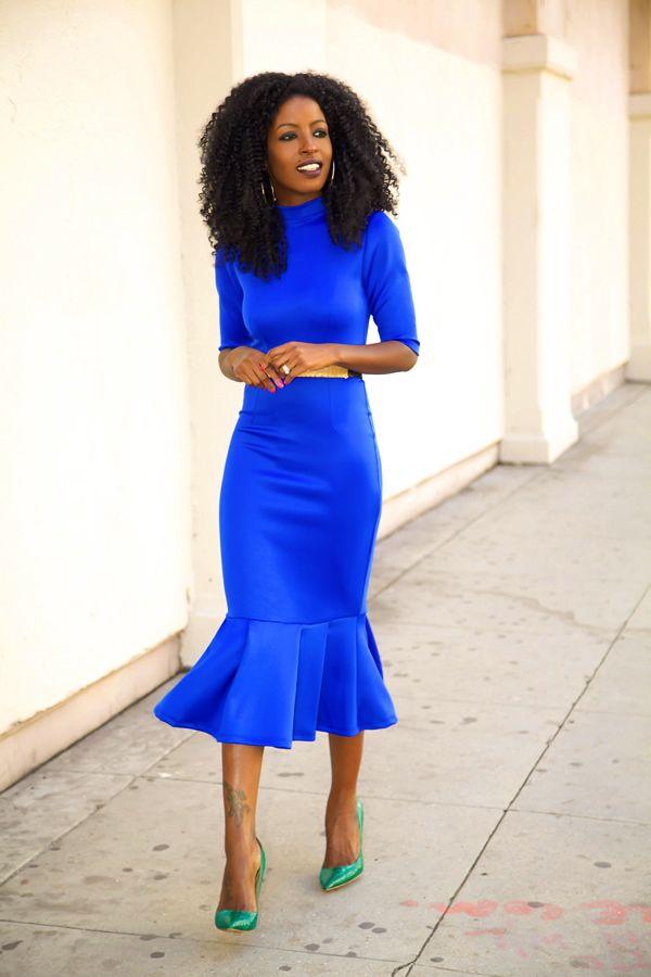 Идея для праздника: модные платья-миди 2