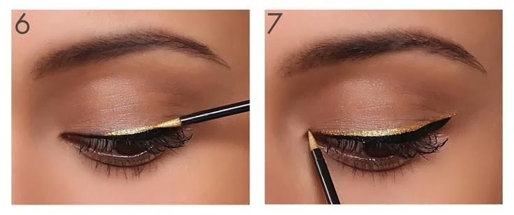 Двойные стрелки макияж пошагово