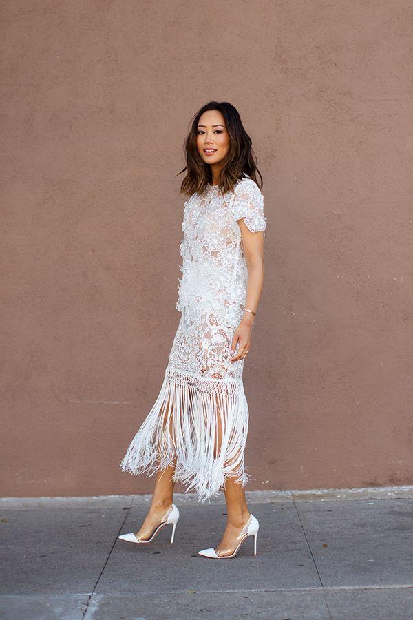 Готовимся к Новому году: 10 стильных платьев с бахромой 1