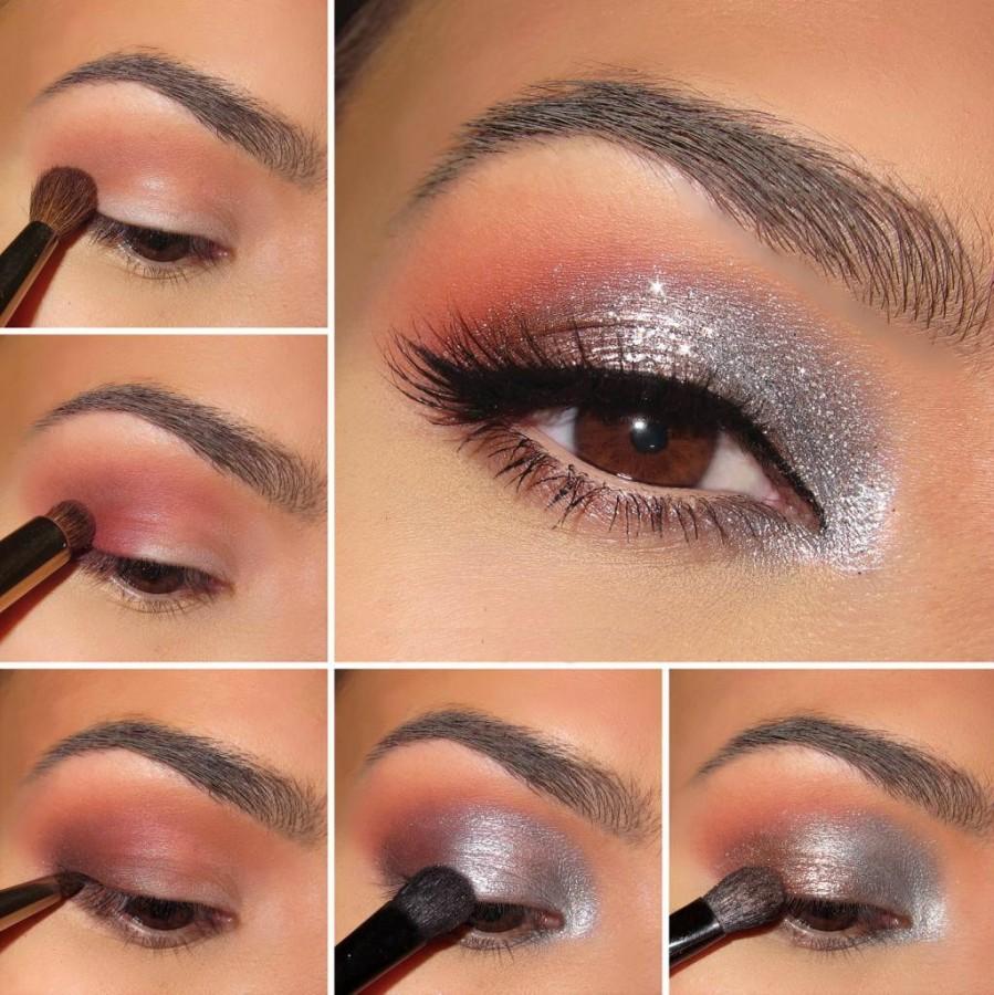 Не сложный но красивый макияж
