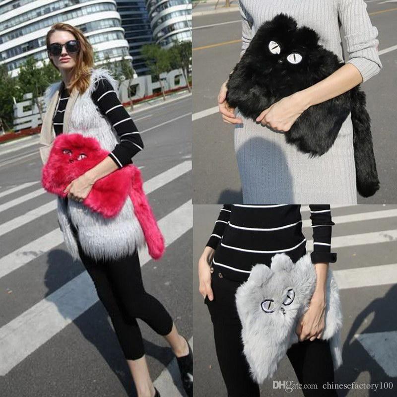 Модный тренд – пушистые сумки! 1