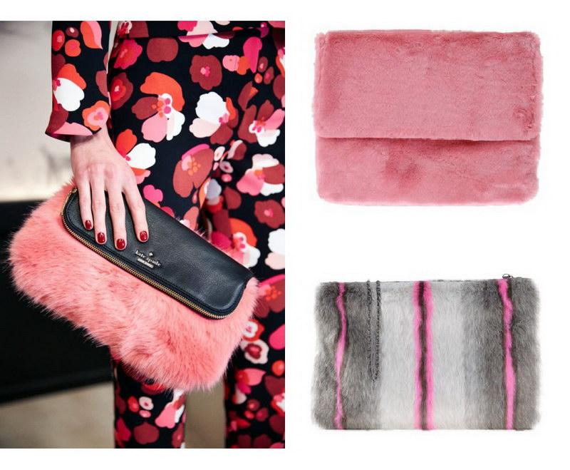 Модный тренд – пушистые сумки! 5