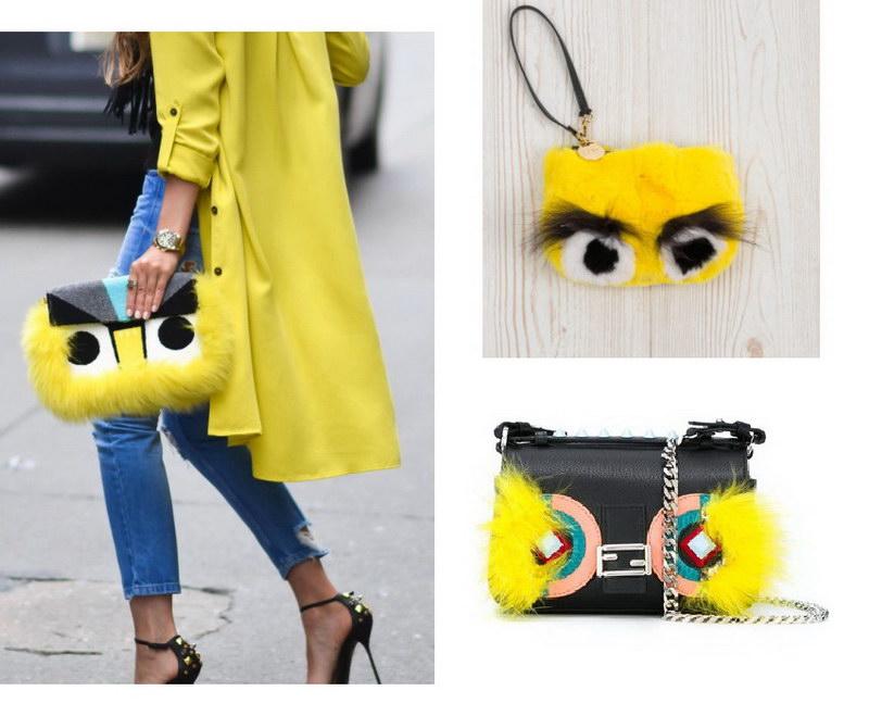 Модный тренд – пушистые сумки! 4