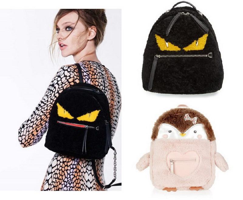 Модный тренд – пушистые сумки! 6