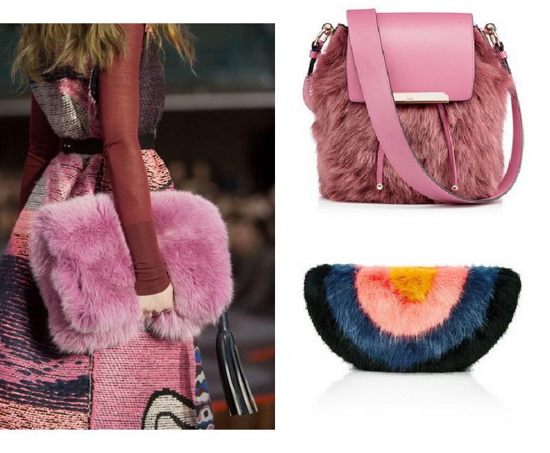 Модный тренд – пушистые сумки! 3