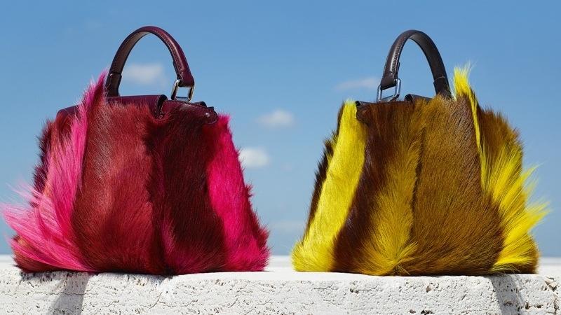 Модный тренд – пушистые сумки! 0
