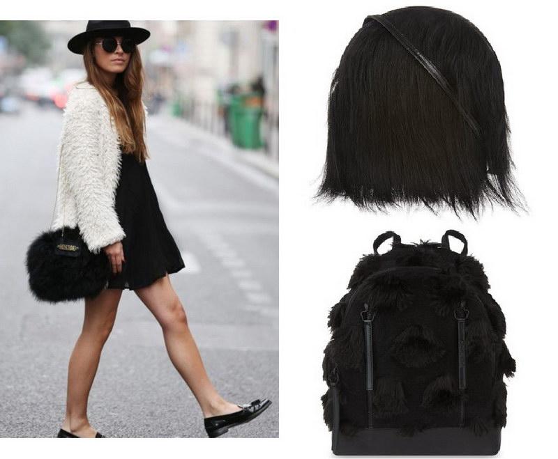 Модный тренд – пушистые сумки! 13