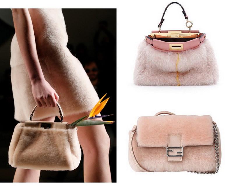Модный тренд – пушистые сумки! 12