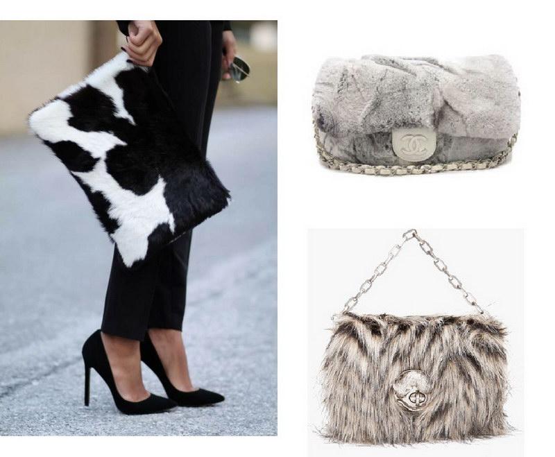 Модный тренд – пушистые сумки! 9