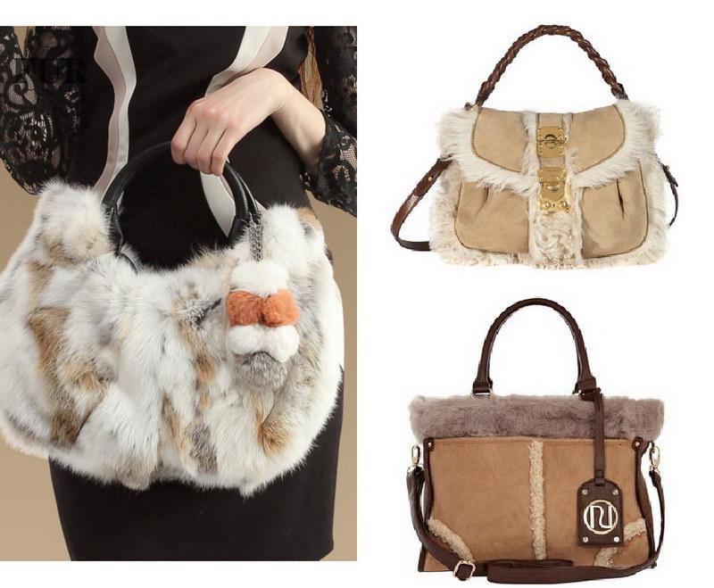 Модный тренд – пушистые сумки! 14