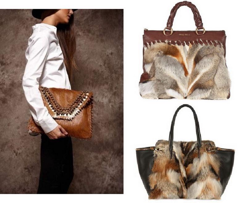 Модный тренд – пушистые сумки! 10
