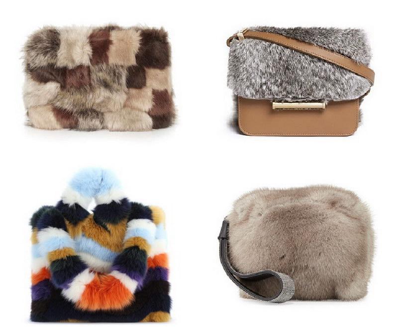 Модный тренд – пушистые сумки! 16