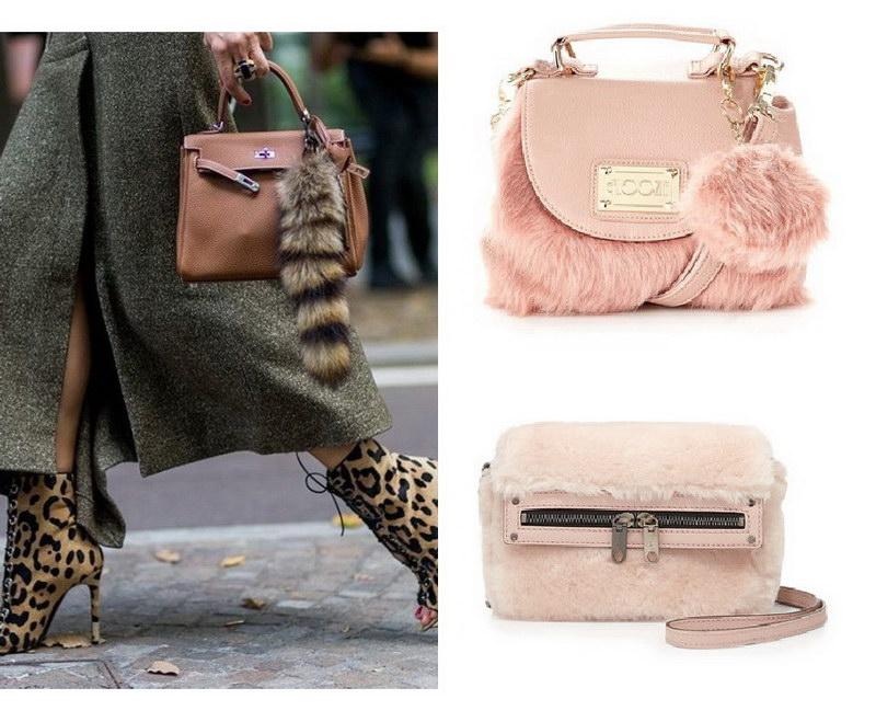 Модный тренд – пушистые сумки! 22