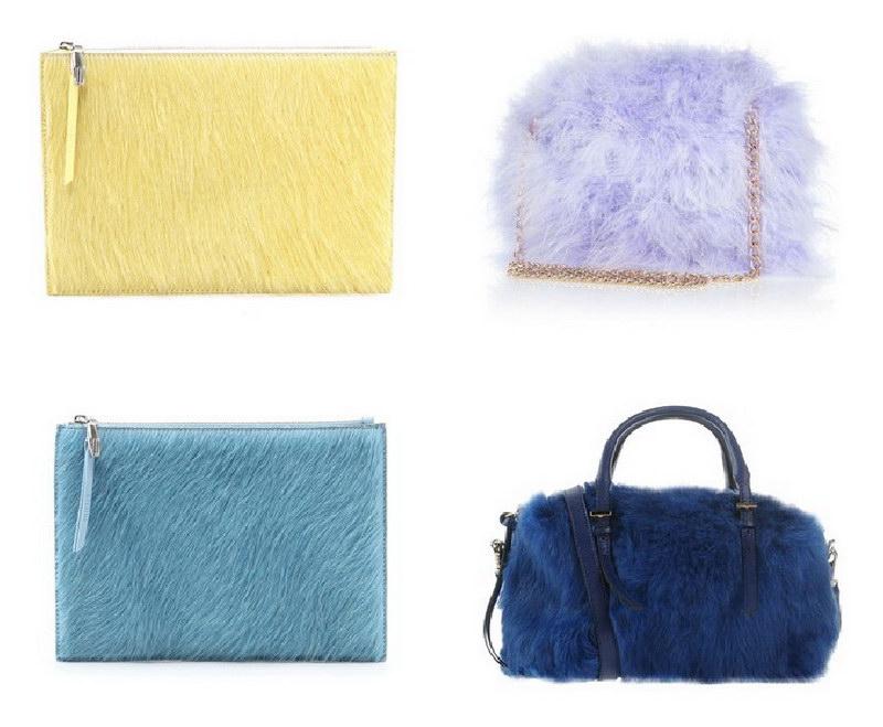 Модный тренд – пушистые сумки! 27