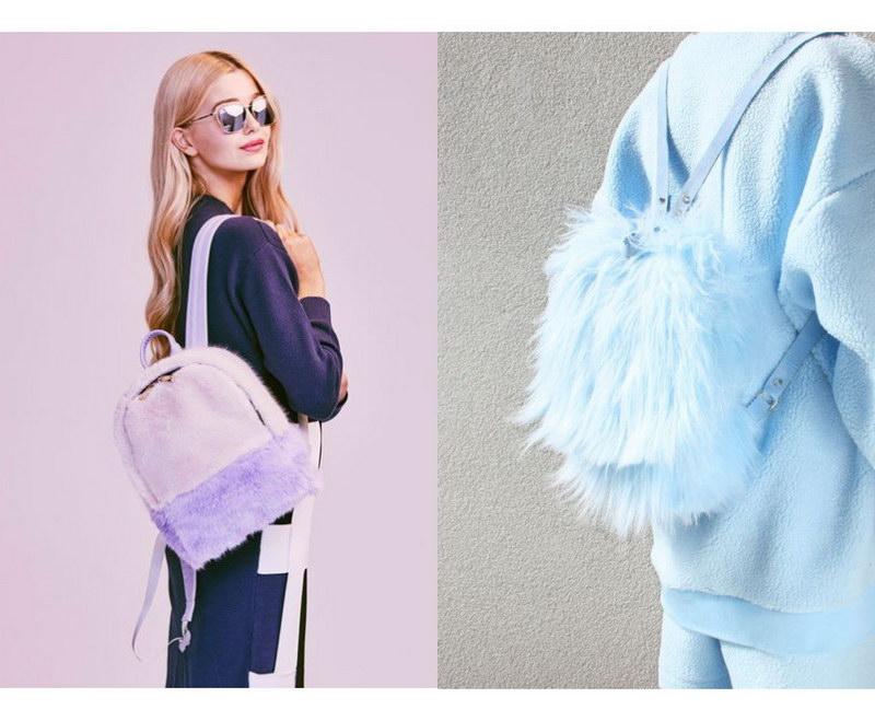 Модный тренд – пушистые сумки! 28