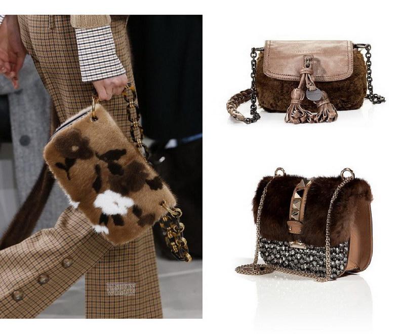 Модный тренд – пушистые сумки! 23