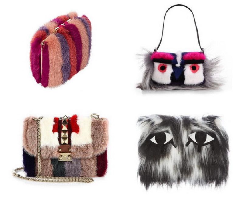 Модный тренд – пушистые сумки! 25