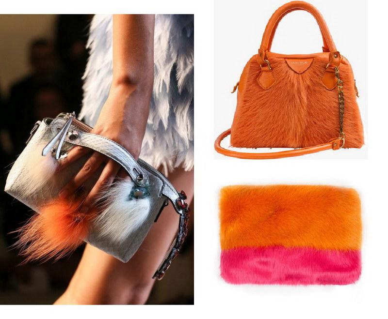 Модный тренд – пушистые сумки! 24