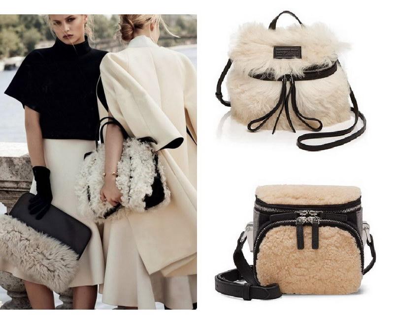 Модный тренд – пушистые сумки! 19