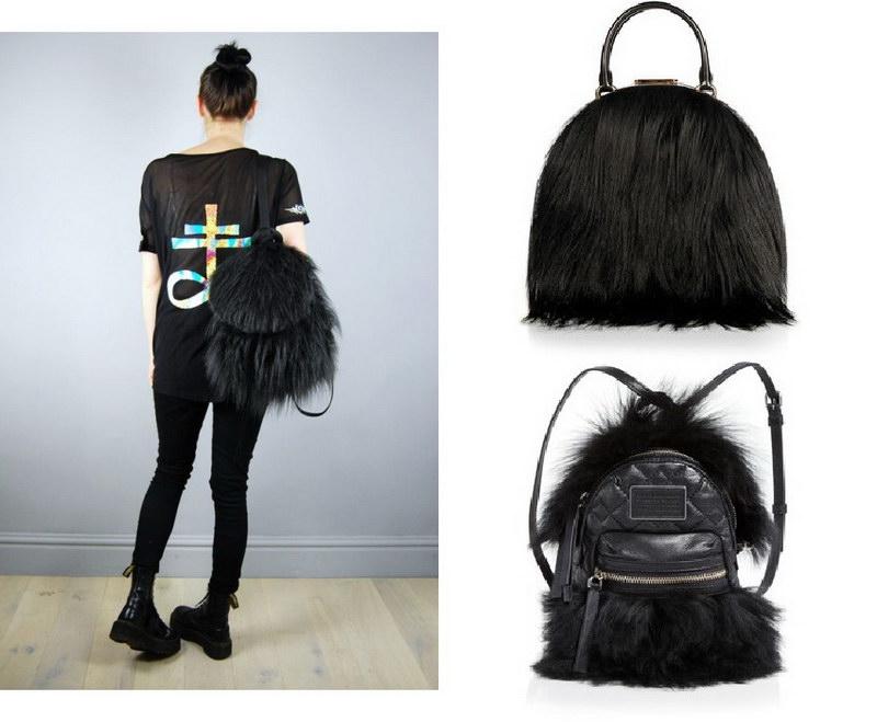 Модный тренд – пушистые сумки! 29