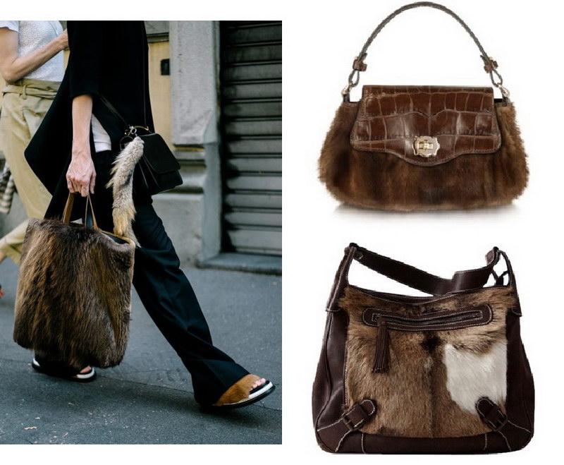 Модный тренд – пушистые сумки! 21