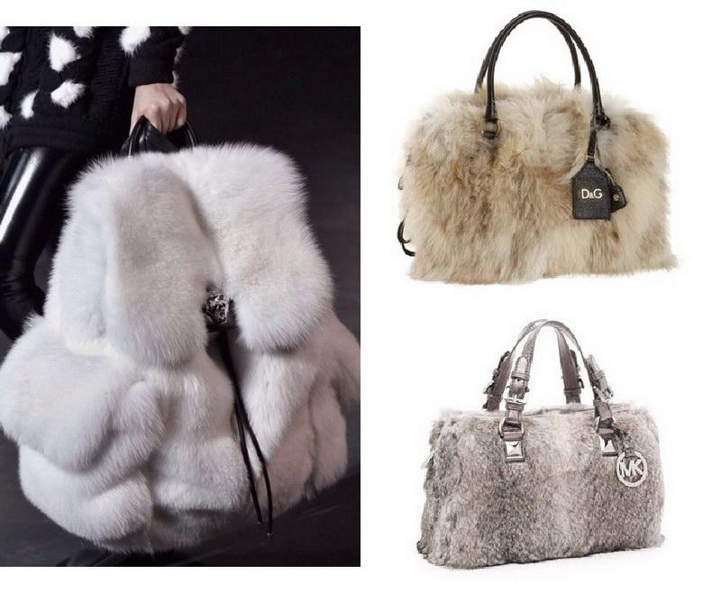 Модный тренд – пушистые сумки! 20