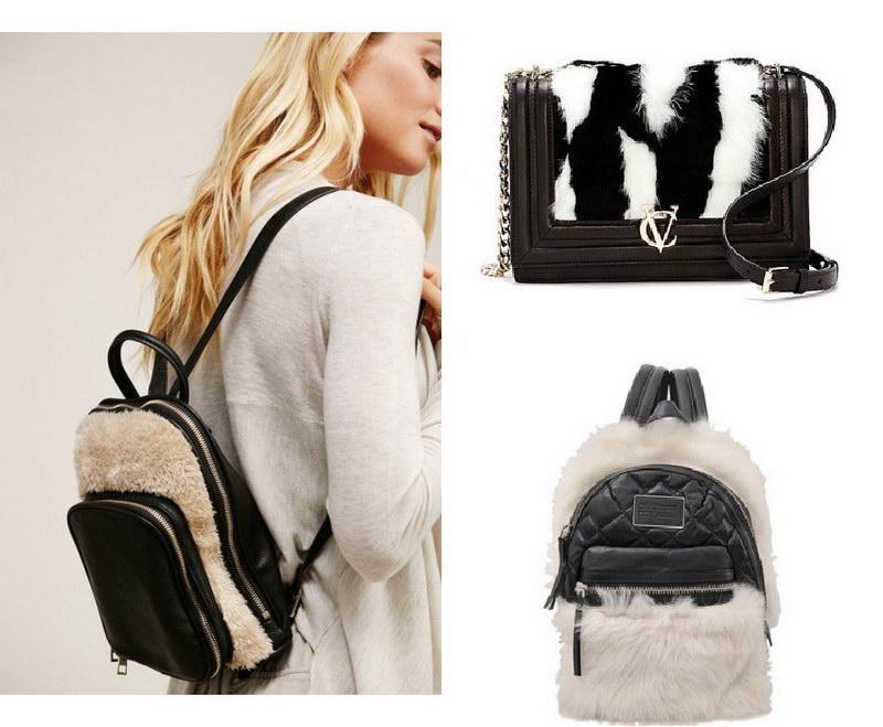 Модный тренд – пушистые сумки! 26