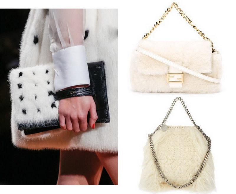 Модный тренд – пушистые сумки! 34