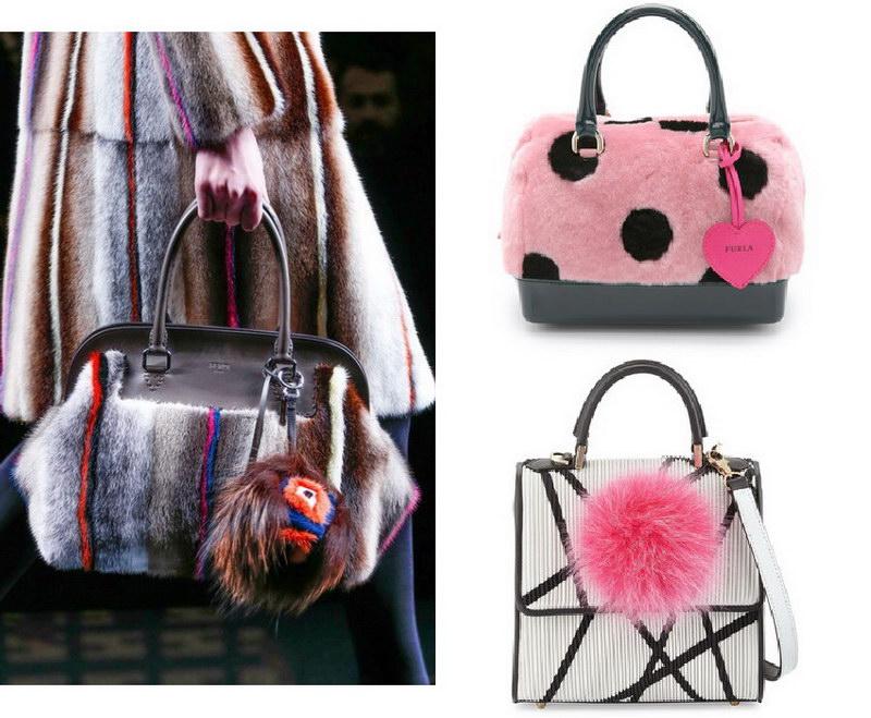 Модный тренд – пушистые сумки! 35