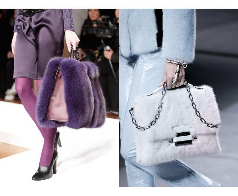 Модный тренд – пушистые сумки! 37