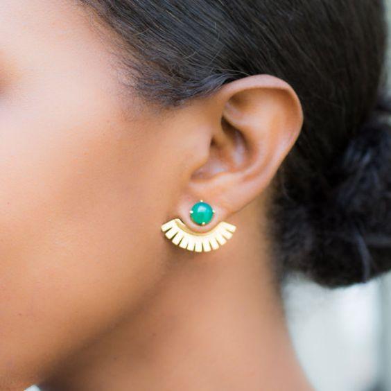 Серьги-джекеты: стильная фишка для модниц 29