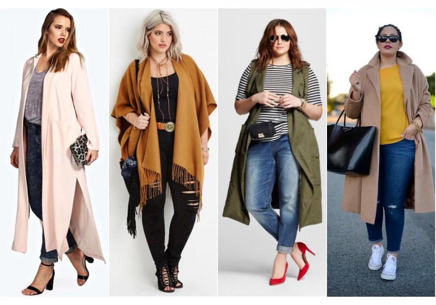 Как носить модные объемные вещи и не выглядеть полной? 5 советов 1