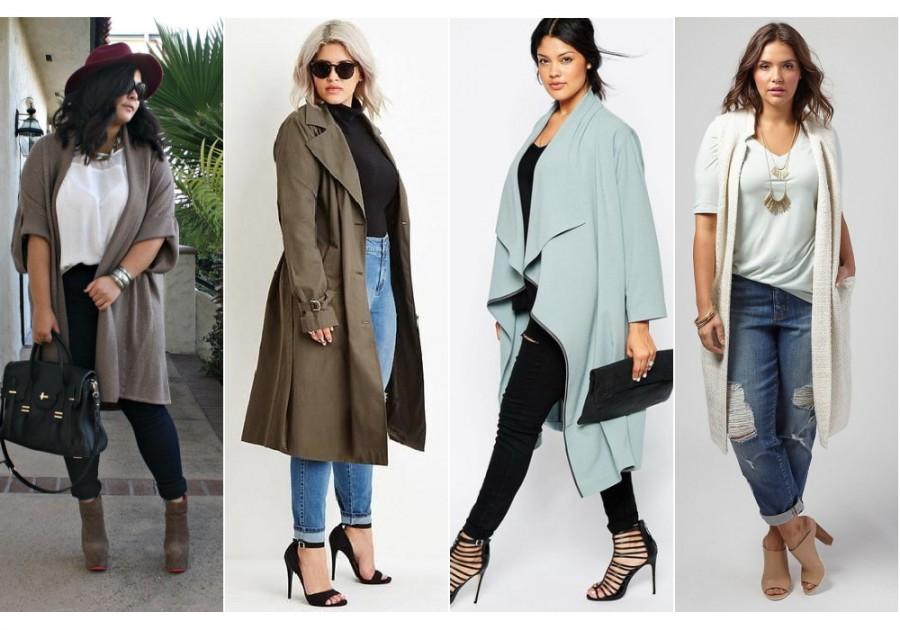 Как носить модные объемные вещи и не выглядеть полной? 5 советов 8