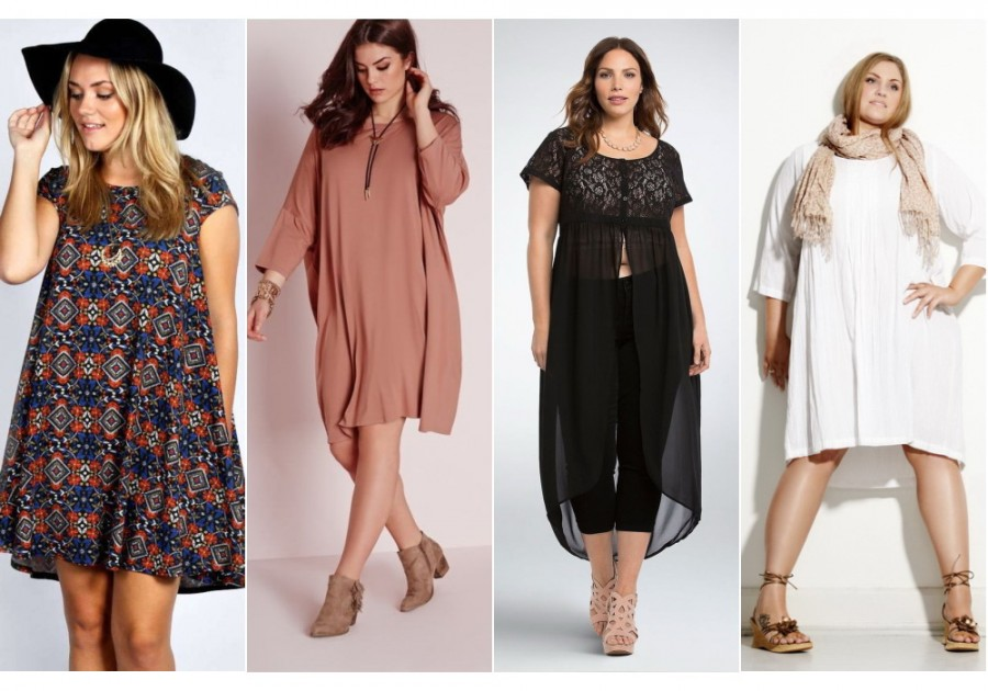 Как носить модные объемные вещи и не выглядеть полной? 5 советов 9