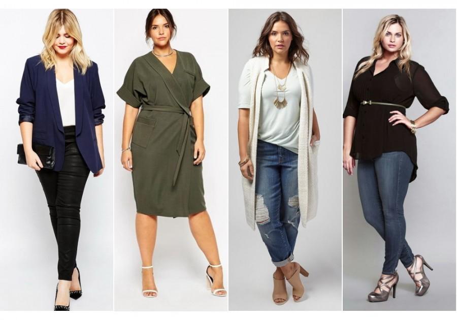 Как носить модные объемные вещи и не выглядеть полной? 5 советов 2