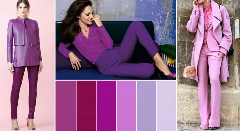Модные и красивые сочетания цветов в одежде