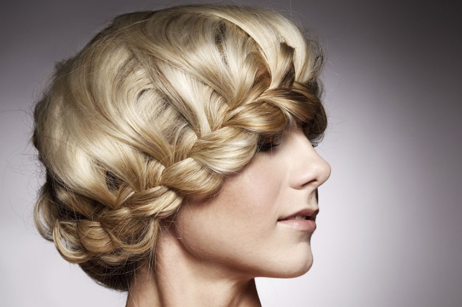 Плетение причёсок из кос