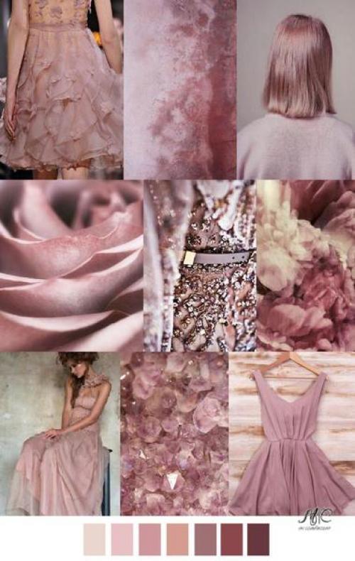 цвет пыльная роза в одежде фото