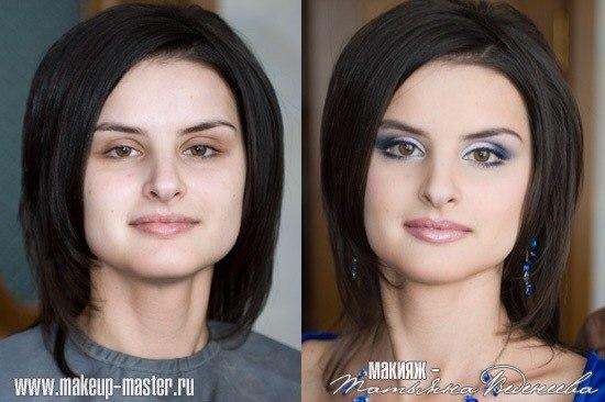 Если лицо круглое какой макияж глаз