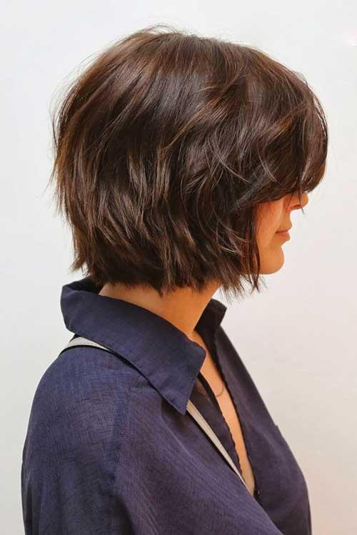 Стрижки прически для густых волос