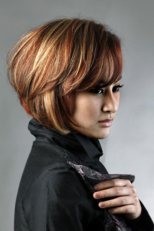 Женские стрижки для густых волос